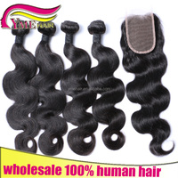 2016 New hair products unprocessed wholesale virgin Brazilian hair one donor 5a grade weaving body wave human hair