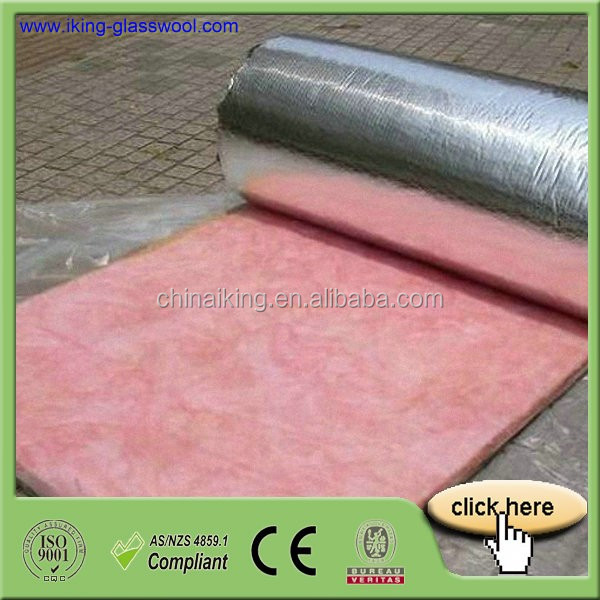 Insulation Glass Wool Price With Aluminum Foil