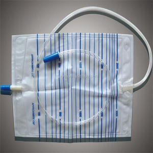 Medical Disposable Adult Urine Bag Drainage Bag 2000ml Sterile or Non-sterile