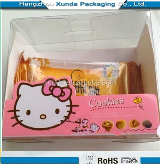 2014 wholesale transparent plastic food box