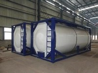 20 feet new condition Iso tank container for powder, bitumen, oil and so on