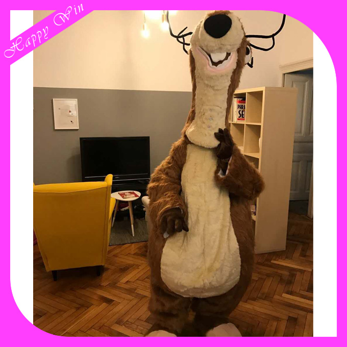 2016 Cute sid the sloth mascot costume,ice age mascot costume for sale