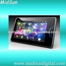 7 inch Renesas ARM A9 Dual core tablet pc Android 4.0 OS Capacitive 2060 P call phone gps