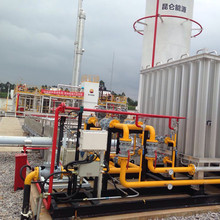 LNG gas liquefaction plant