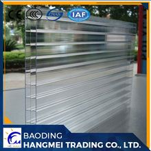 Building material triple wall/3 wall pc/polycarbonate sheet for greenhouse