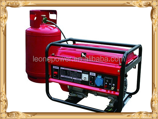 hot saling 5kw gasoline generator and gas generator