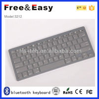 Mini bluetooth keyboard with touchpad for ipad for pc