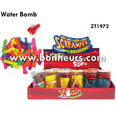 New Novelty Toy Tube Balloons Set Inflatable Party Water Bomb