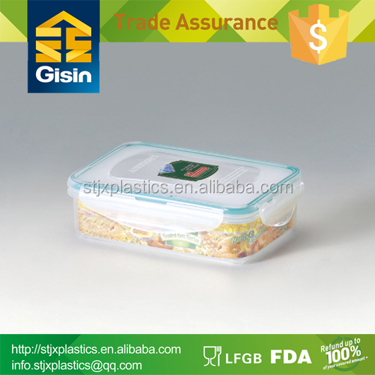 BPA-free sealable plastic food container