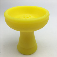 Hookah silicone bowl and clay hookah bowl