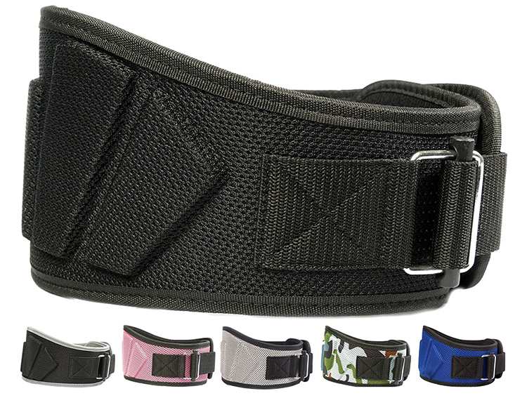 Ceinture de soutien du bas du dos soulage la ceinture de levage de poids d'entraînement de gym