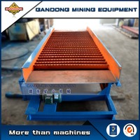 High performance-price ratio alluvial gold mining equipment vibrating sluice for sale