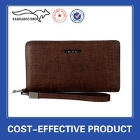 High quality fashion wholesale leather clutch bag for boys