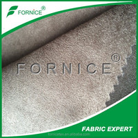China manufacturer 100% polyester woven automotive suede fabric