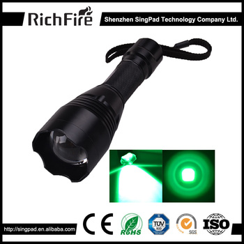 Most powerful tactical flashlight led rechargeable emergency hunting light