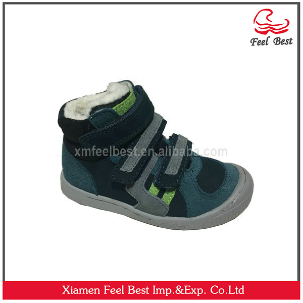 Kids Casual Shoes With Suede Upper,TPR Outsole Kids Footwear