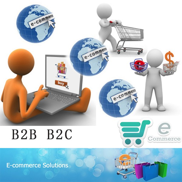 fashion&beauty business ecommerce internet B2B B2C website design service