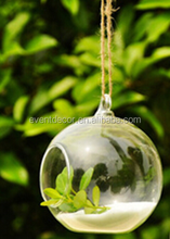 Wholesale clear hanging glass ball for decoration
