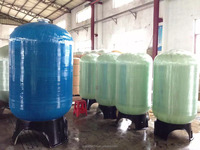 FRP water tanks for water treatment fiber glass tank