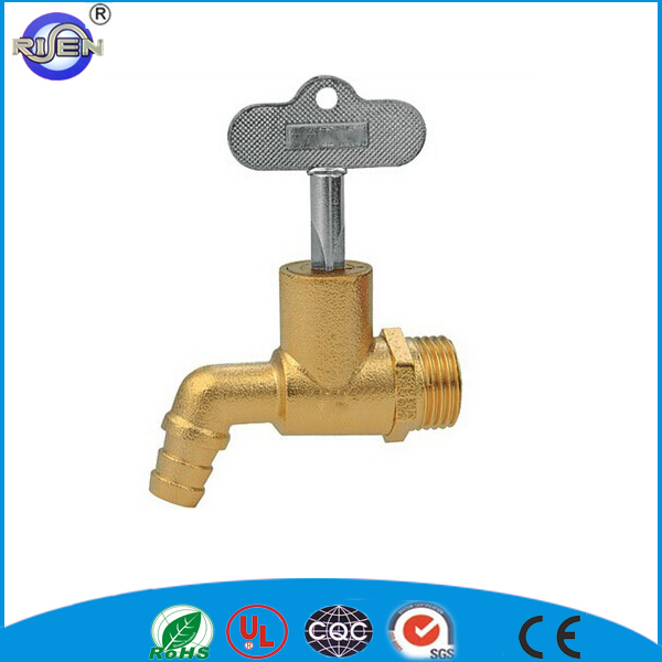 Coarse sand polised original color tap can be locked