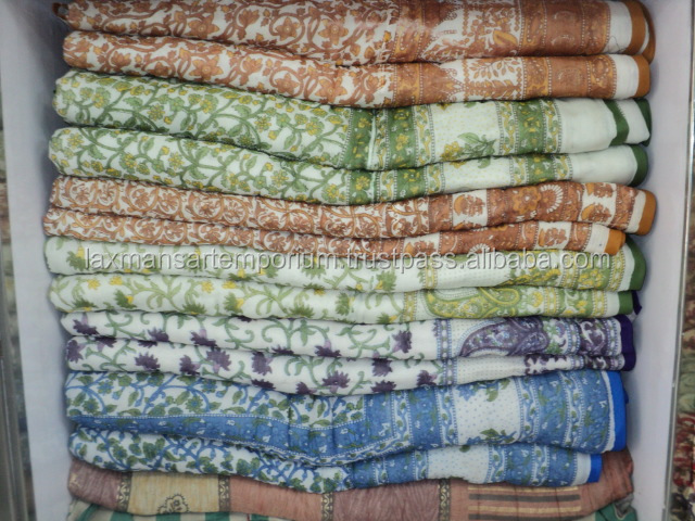 new indian jaipuri printed cotton quilts wholesale