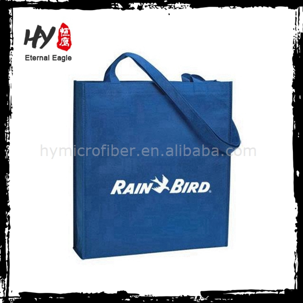 Hot selling cheap personalized logo promotional nonwoven shopping tote bag
