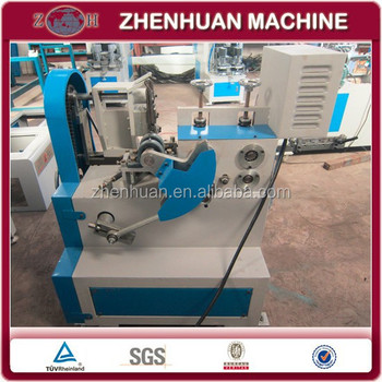Automatic bra ring bending machine for bra underwire