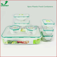 Microwavable Plastic Storage Food Container
