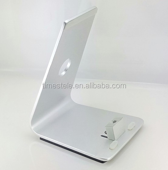 Hot Universal Aluminium Silver Charging Stand for iPad & Cell Phone