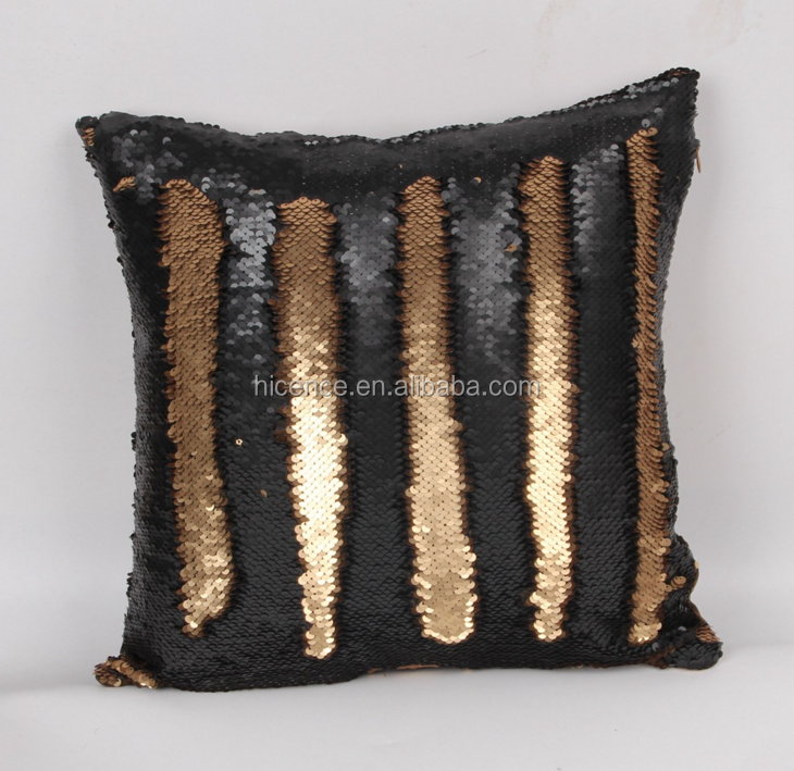 hot sale in 2016 flip reversible sequin fabric changing DIY mermaid cushion