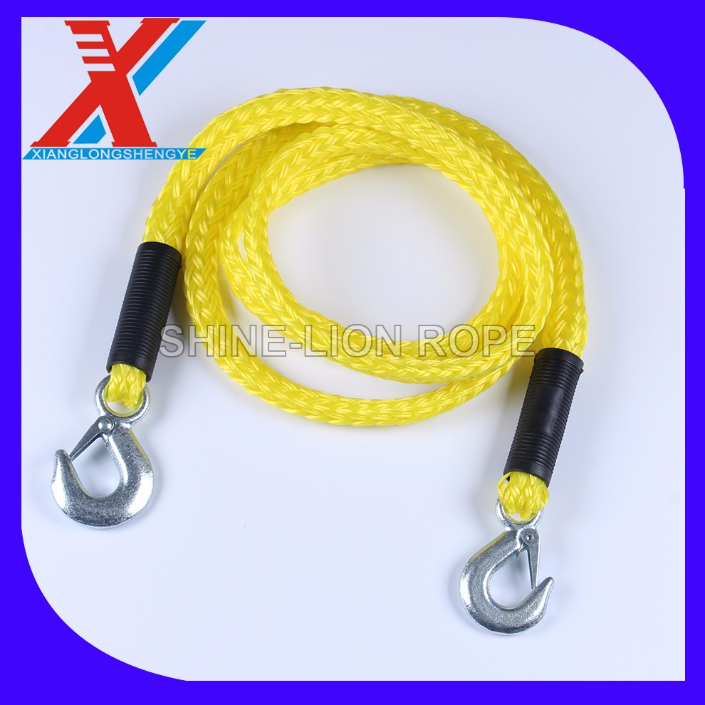Automobile outdoor emergency 16mm braided polyester rope