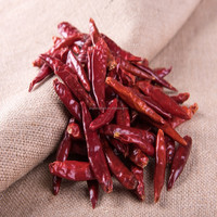 Red Baked Process Dried Chili Peppers Supplier
