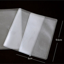 Wholesale transparent PVC plastic sleeve for the business cards