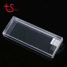 Custom luxury clear folding waterproof business card boxes plastic