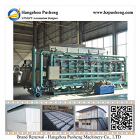Hangzhou Pusheng Advanced Technology AUTOMATIC EPS SHAPE MOULDING MACHINE foam plastic automatic tray seed machine