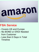 Amazon FBA shipping China to Denmark