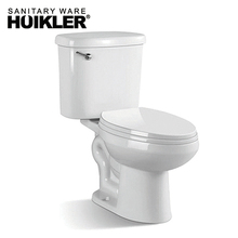 American Standard 288D Siphonic Normal Height Round Front Toilet White 2-Piece toilet