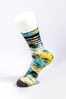 new design sublimation wholesale printing socks