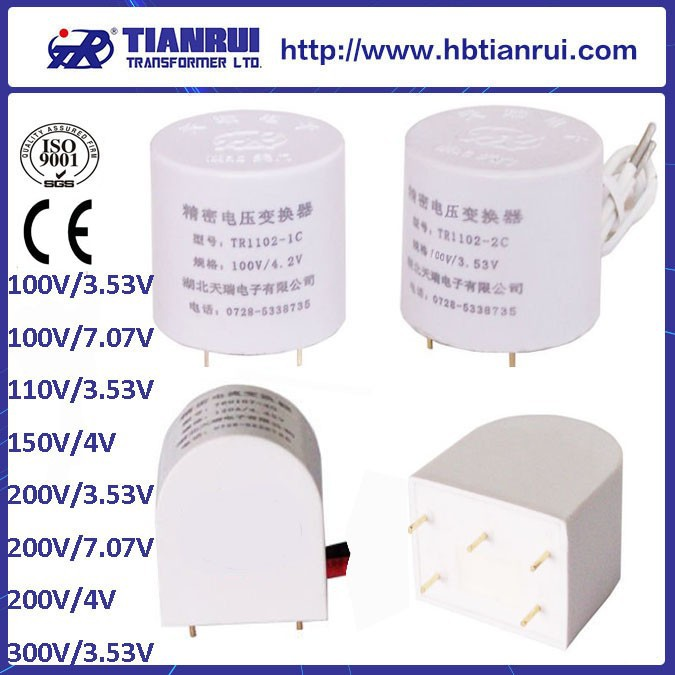 TR11 series 110V 200V 380V voltage transformer ac voltage transducer