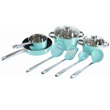Enameled Stainless Steel Set Pots Cookware