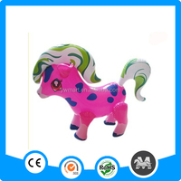 Hot selling safe PVC baby inflatable horse