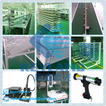 China KEYLAND Semi Auto / Full Auto PV module assembly line solar panel with Onsite Installation