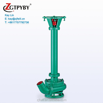 Cast Iron or Stainless Steel 316 Industrial Sump Pump Long Shaft Vertical Centrifugal submersible Mud Pump