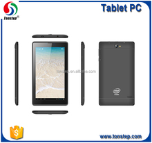 7 inch 3G intel sofia tablet with dual system