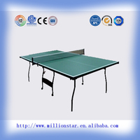 15mm high quality DG Million star LS-TT71009 indoor outdoor table tenis table, pin pong table