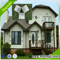 Modern Prefabricated House and Villas used sandwich wall panels