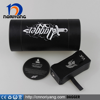 2016 newest ecig mod Dagger mod 80w Authentic from Noriyang