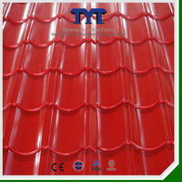 CE Certificated Beautiful Colorful Metal Blue Glazed Roof Tile