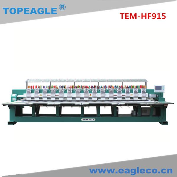 TOPEAGLE TEM-HF915 9 needle 15 head High Speed Embroidery Machine Series