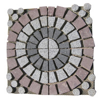 external and internal decoration interlock durable machine cut paving stone patterns